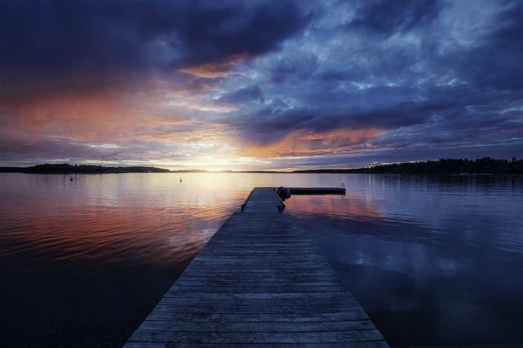 Für atmosphärische Landschaftsfotografie muss das Timing und Licht stimmen
