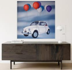 """Freedom Painting"" - Ölmalerei auf Leinwand von Trevisan Carlo"