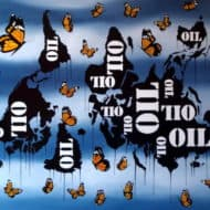 """""""Regeneration Painting"""" - Sozialkritisches Ölgemälde von Trevisan Carlo"""