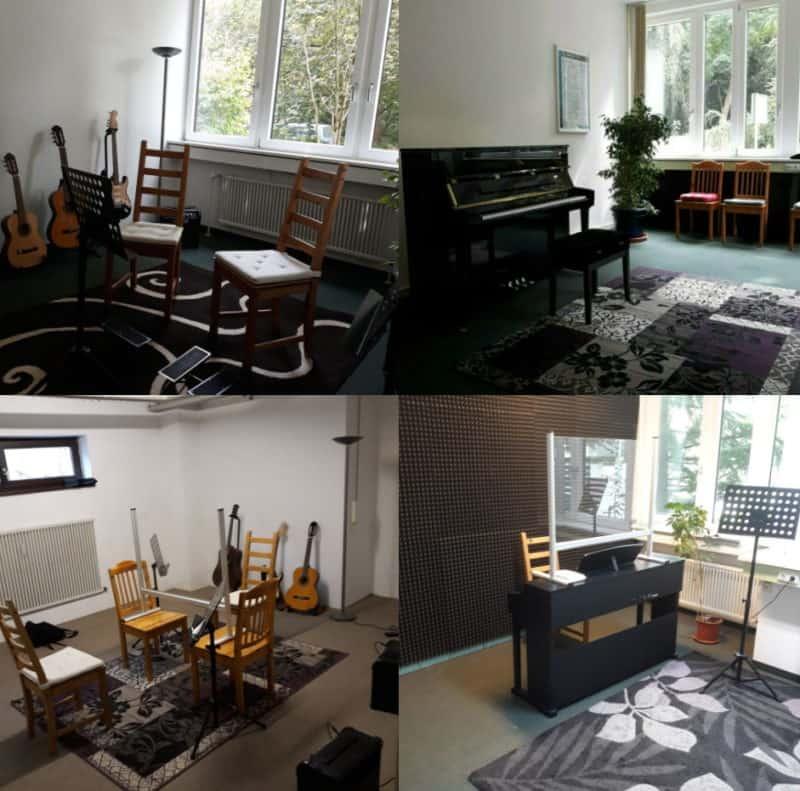 Musikschule in München Schwabing für Kinder und Erwachsene - Zahlreiche Instrumente werden unterrichtet