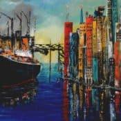 colored port impressions - farbintensive Hafenimpression von Ulrike Sallós-Sohns