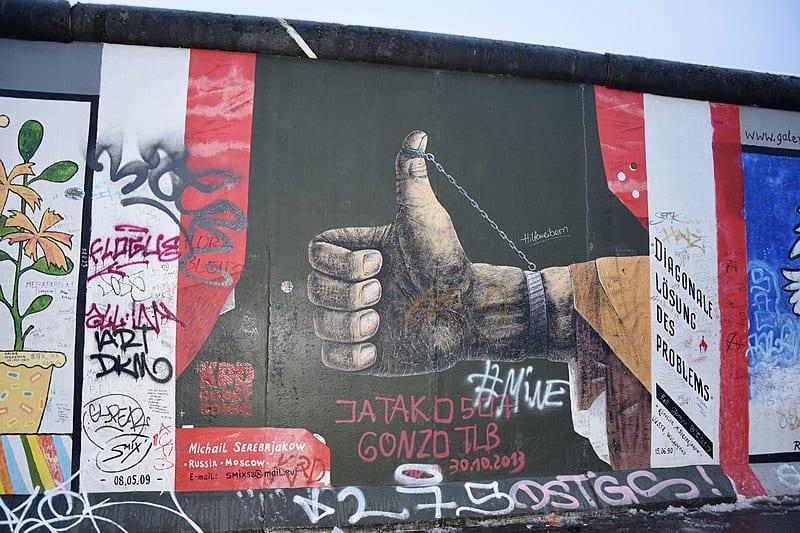 East Side Gallery, Berliner Mauer, Ank Kumar, Infosys Limited