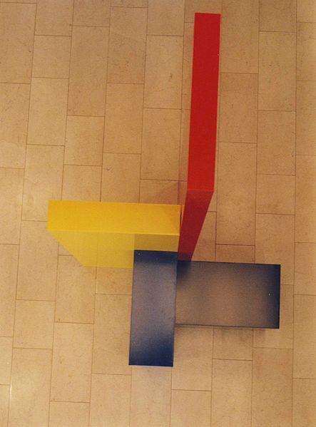 Jo Niemeyer, Skulptur in der Kunsthalle Villa Kobe in Halle, gebaut von Jesus Perez Franco