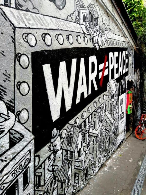 War is not Peace, Rochstraße 9, 10178 Berlin