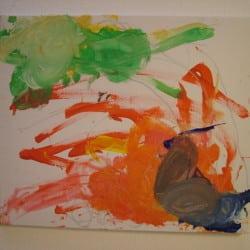Art Brut Werk von Künstlern der Förderstätte der Lebenshilfe e.V. Passau #1