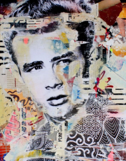 """""""It's time to start believing"""" - Mixed Media Collage von Michiel Folkers"""