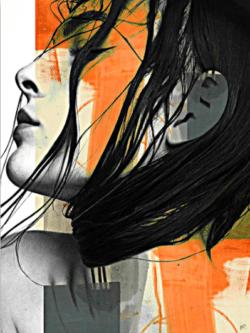 """White Sun"" - Digital Art als limitierter Giclée-Print von Rich Ray Art"