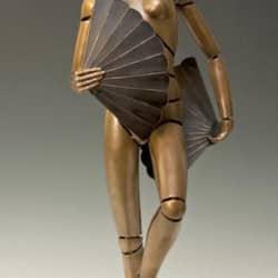 """Fantesia III"" - Bronzeskulptur von David G Smith"