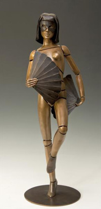 """Fantesia III"" - Bronzeskulptur von David G Smith"