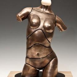 """""""Torso Darcy"""" - Bronzeskulptur von David G Smith"""
