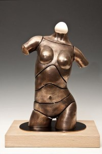 """Torso Darcy"" - Bronzeskulptur von David G Smith"
