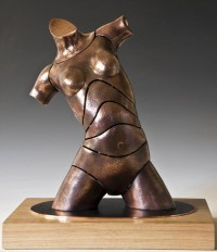 """Torso Jessy"" - Bronzeskulptur von David G Smith"