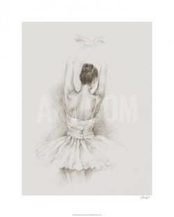 """""""Dance Study II"""" - Limitierter Kunstdruck von Ethan Harper"""