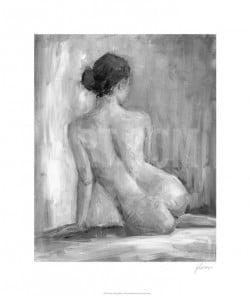 """""""Figure in Black & White I"""" - Limitierter Druck von Ethan Harper"""