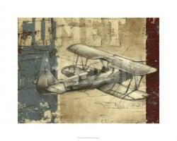 """""""Vintage Aircraft I"""" - Limitierter Giclée-Druck von Ethan Harper"""
