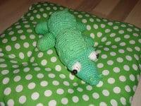 Freddy - Das Krokodil (gehäkelt)