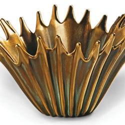 """Bronzeschale """"Agave"""" von Gabriella Venturi"""