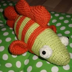 Glubschi - Der Fisch (gehäkelt)