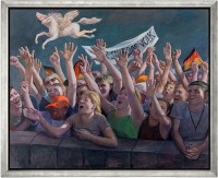 "Gudrun Brüne: ""Wir sind das Volk"" (2010) (Original / Unikat)"