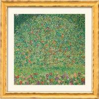 "Gustav Klimt: ""Apfelbaum I"" (Reproduktion auf Bütten)"