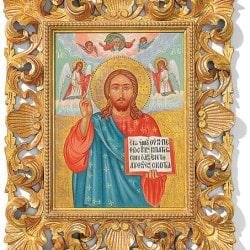 "Handgemaltes Ikonenbild ""Christus Pantokrator"""