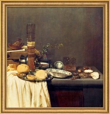 """""""Stillleben mit Bierglas"""" von Jan van de Velde, limit. Giclée Reproduktion"""