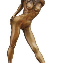 """Bronze-Skulptur """"Queen of Heart"""" von Jochen Bauer"""