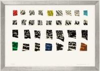 "Farblithografie ""Two Assemblages (Transparent)"" von John Baldessari, 2003"