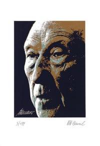 """Reproduktion des Bildes """"Konrad Adenauer"""" von Karl-Heinz Laval"""