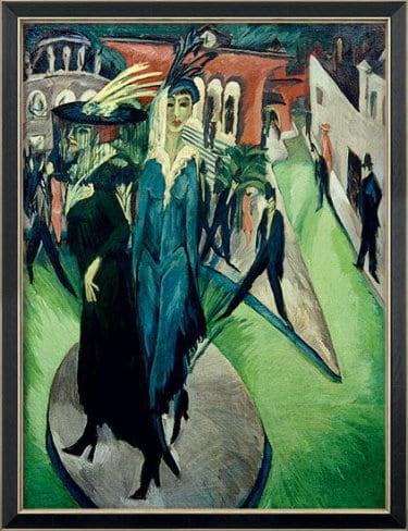 """""""Potsdamer Platz"""" von Ernst Ludwig Kirchner (limitierte Reproduktion)"""