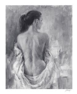 """Draped Figure I"" - Limitierter Giclée Druck von Ethan Harper"