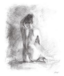 """""""Life Drawing I"""" - Limitierter Druck von Ethan Harper"""