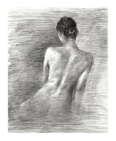 """""""Light Study I"""" - Kleinformatiger Kunstdruck von Ethan Harper"""