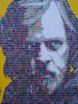 """""""Luke Skywalker"""" - Pop Art Collage von Gary Hogben"""