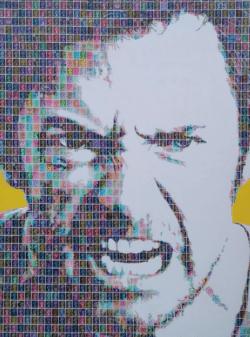 """""""Wolverine"""" - Pop Art Collage von Gary Hogben"""