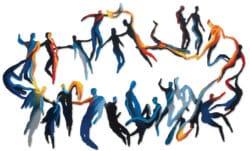 """Wandskulptur """"Star Dance"""" von Krum Stanoev"""
