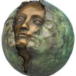 """Bronze-Skulptur """"Metamorphose"""" von Maria-Luise Bodirsky"""