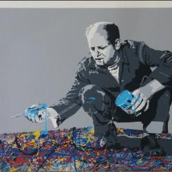 """""""Jackson Pollock"""" Original von Mr. Brainwash"""