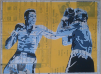 """Legend"" Original von Mr. Brainwash"