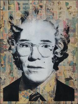 """""""Marilyn Warhol"""" von Hand veredelter Siebdruck von Mr. Brainwash"""