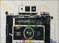 """""""Polaroid"""" - handsignierter Siebdruck von Mr. Brainwash"""