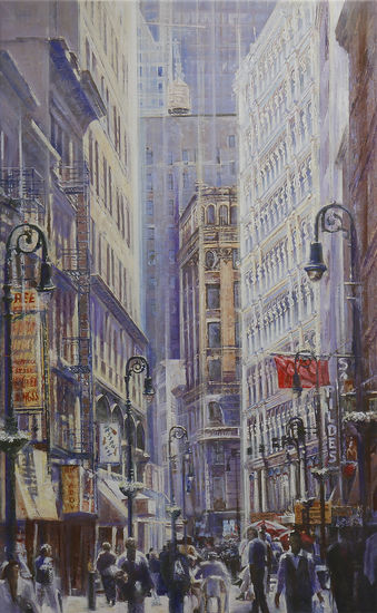 """New York City by light"" von Namazbek Chekirov (Limitierte Giclée Reproduktion)"