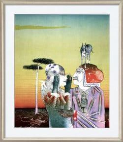 """""""Guten Morgen"""" - Limitierte Farblithografie von Paul Wunderlich"""