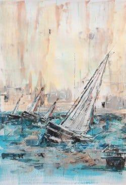 """The Sail Day"" - Acrylgemälde von Rachel Keens"