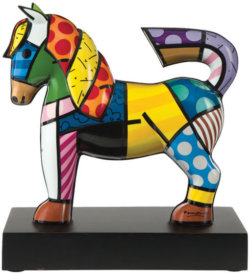 "Porzellanskulptur ""Dancer"" von Romero Britto"