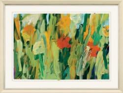"""Acrylgemälde """"Blumenwiese"""" (2009) von Roswitha Schumacher-Kuckelkorn (Unikat)"""