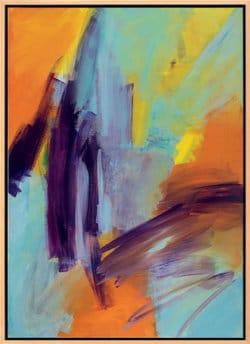 """Acrylgemälde """"Ohne Titel"""" (2008) von Roswitha Schumacher-Kuckelkorn (Unikat)"""