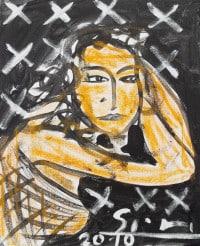 "Stefan Szczesny: Bild ""Eva in der Nacht"" (2010) (Original / Unikat)"