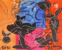 """Stefan Szczesny: Bild """"Stillleben XI"""" (2010) (Original / Unikat)"""