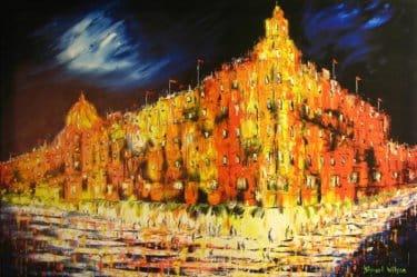 """""""Knightsbridge"""" - Limitierter Kunstdruck von Stewart Wilson"""